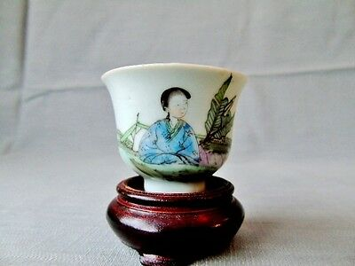 Early 20th c Japanese Saki Cup - Oriental Porcelain