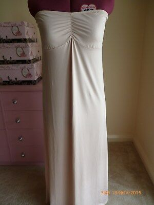 Target long beige convertible fitted slip, Size 18