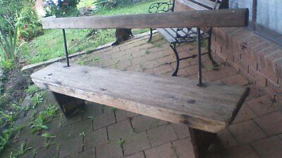 Vintage bench, pew, porch seat