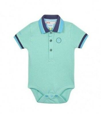 Ted Baker Baby Boys Polo Bodysuit Romper Mint Green Age Newborn 3 6 9 12 Months