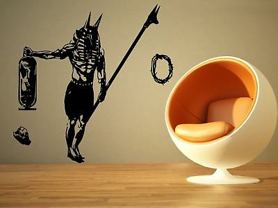 Wall Room Decor Art Vinyl Sticker Mural Decal Seth Egyptian God Big Large AS1346