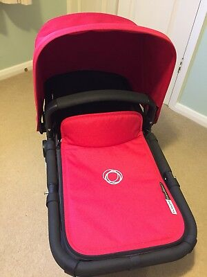 Bugaboo Cameleon 3 Hood And Apron Fabric Set - Red