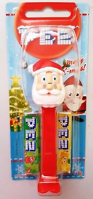 PEZ Candy & Dispenser - Merry Christmas SANTA CLAUS - Stocking Filler