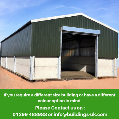 Industrial Steel Frame Building 18mt x 9mt x 4mt