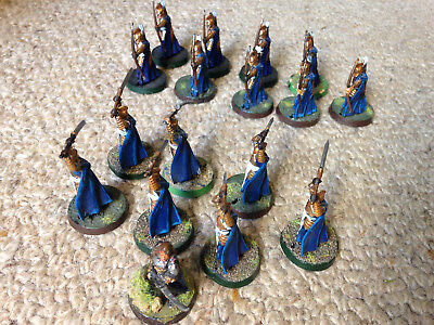 Lord of the Rings Figurines Figures Game Elves Elrond