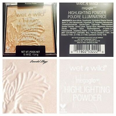 Wet n Wild Mega Glow Highlighter 5.4g Precious Petals Free And Safe Postage