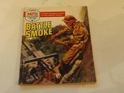 BATTLE PICTURE LIBRARY NO 198,dated 1965!,GOOD FOR AGE,VERY RARE,52 yrs old.