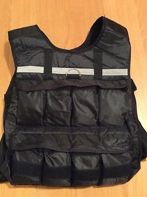 Weight Weighted Vest Adjustable Up to 10kg (Running, body weight, Weight Loss)