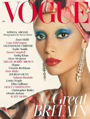 Vogue UK December 2017 (Debut 1st Issue of New Editor, Edward Enninful)