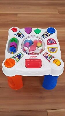 Fisher Price Musical Learning Activity Table