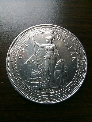 GREAT BRITAIN - TRADE COINAGE - DOLLAR - 1898 (B) - Silver Coin