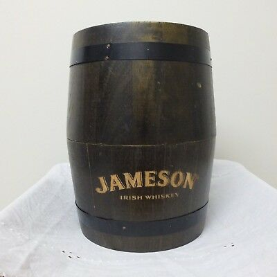 Wooden Jameson Irish Whiskey Barrel