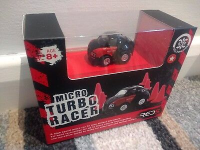 Red 5 Micro Turbo Racer Remote Controlled Car Red5 brand new sealed