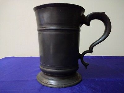 Victorian Quart Pewter Tankard - City of Westminster 1826 Mark
