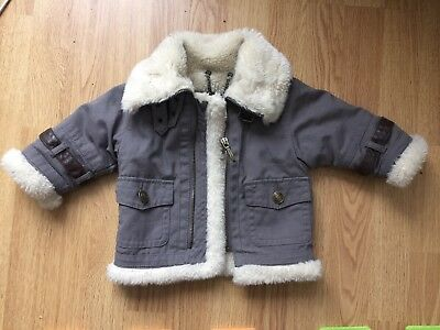Baby Boys Burberry Coat 0-6 Months