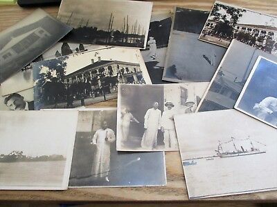 Singapore / Asia ? - Old Collection of 14 x  c.1910 Postcards
