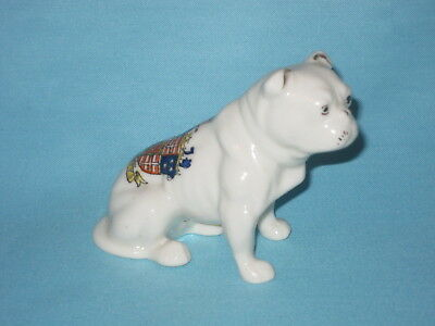 Shelley China Bulldog - CROMARTY crest