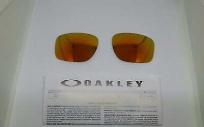 Oakley SLIVER lenti di ricambio FIRE IRIDIUM VR46 model 9262 ORIGINAL NEW