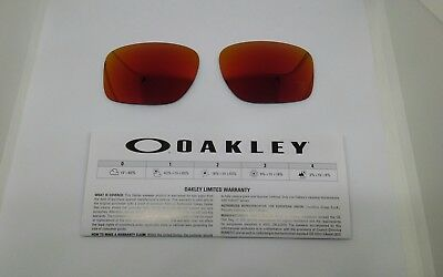 Oakley SLIVER lenti di ricambio FERRARI  ruby iridium model 9262 ORIGINAL NEW