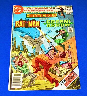 The Brave and the Bold BATMAN And GREEN ARROW Issue #168 [DC 1980] GD