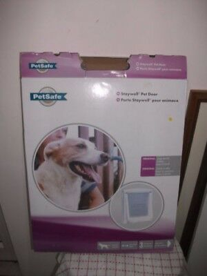 New Staywell Petsafe 775 Large White Dog Flap   see through