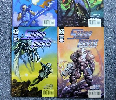 Starship Troopers: Dominant Species #1,2,3,4 of 4 (Dark Horse, Complete, 1998) V