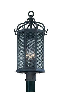 Troy P2375OI Lighting Accessories Los Olivos Old Hand Forged Iron 3-light 14 in