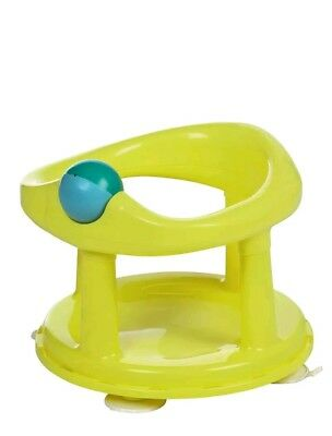 Safety 1st Swivel Bath Seat (Lime) Rotating Ergonomic Baby Bathing Chair NEW
