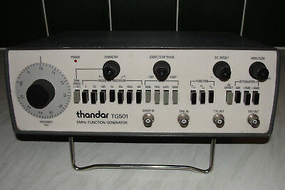 Thandar TG501 Function Generator (recently calibrated)