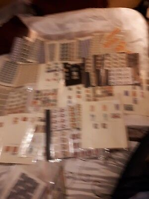 JOB LOT there's too many to mention there's well over 500 stamps here all in min