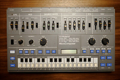 Roland MC 202 Micro Composer Vintage Synthesizer ähnlich SH101 - Top Zustand!