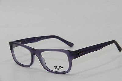 20d75c22928 New Ray-Ban Rb 5268 5122 Violet Eyeglasses Authentic Frames Rx Rb5268 48-17