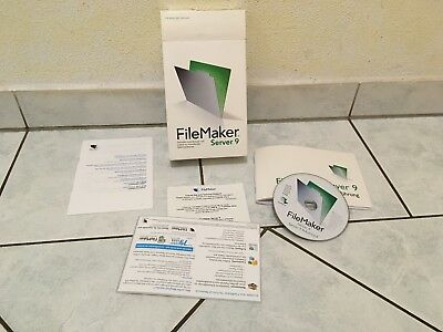 FileMaker Server 9 Advanced - Multilanguage (Deutsch, Englisch usw.) für Mac/Win