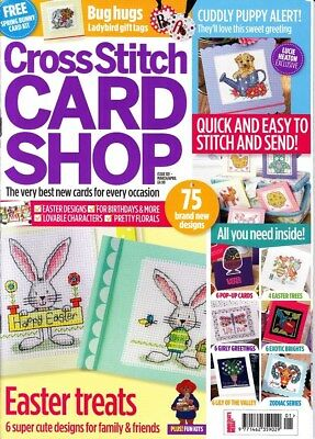 CROSS STITCH CARD SHOP - Issue 101 - Mar 2015 - plus FREE card kit