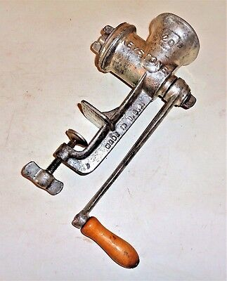Antiques Active Vintage Keystone #20 Meat And Food Chopper