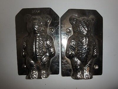 Antike Schokoladenform TEDDY BÄR Antique chocolate mold TEDDY BEAR # 2694