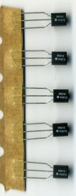 Lot de 5 Doubles Diodes Varactor AM Haute Capacité Philips BB212