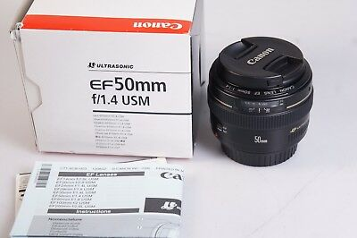 CANON EF 50 mm 1,4 USM in OVP