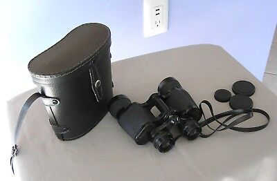 Vintage CARL WETZLAR BINOCULARS Made in Japan NAVIGATOR 7 x 35 w/ Black Case