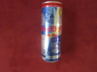 NEW - Street Fighter 30th Anniversary Limited Red Bull Can Featuring Guile