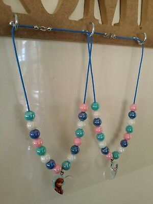 *SALE* GIRLS FROZEN PLAY JEWELRY by DISNEY, necklace set and ring