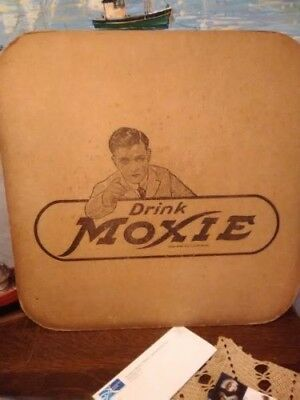 Vintage card board Moxie Sign 33% OFF FINAL LISTING