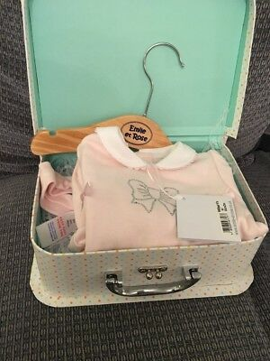 Brand New Emile Et Rose Sleepsuit, Hanger And Headband (BNWT) 0-3 Months In Box
