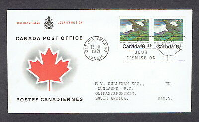 Canada FDC - 1971 - Emily Carr, Scott # 532, CPO Replacement Cover
