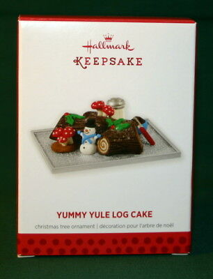 Hallmark Ornament 2013 Yummy Yule Log Cake Compliments Season's Treatings Serie