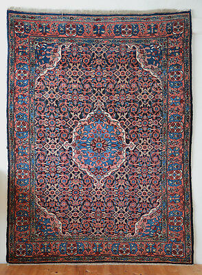 antique Orientteppich wonderful pers. Malair 198x145 fine rug tappeto tapis