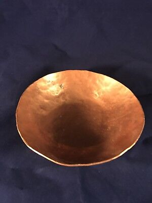 Hand Hammered Copper Bowl Small