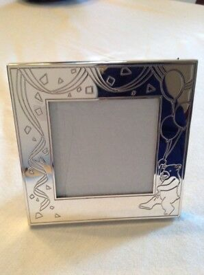 Tiffany and Co. sterling silver baby picture frame