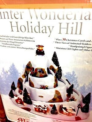 Mr.Christmas,Winter Wonderland,Holiday Hill, Gold Label,World´s Fair Collection