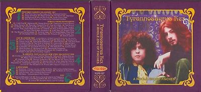 Marc Bolan / Tyrannosaurus Rex - 'zinc Of Finches' - 5 Cd + Dvd Box With Booklet